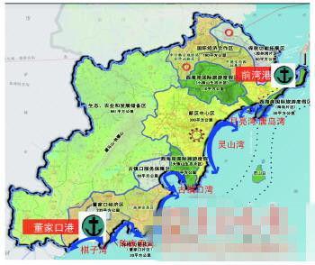 为突出发挥青岛半岛蓝色经济区核心区龙头带动作用,以黄岛区,胶南市等