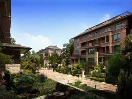 庭院、情趣及酒店一样不少阜宁花园洋房v庭院景观露台扬州图片