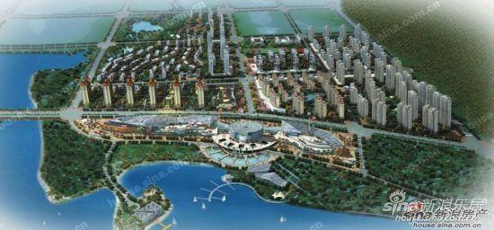 郑开橄榄城规划图