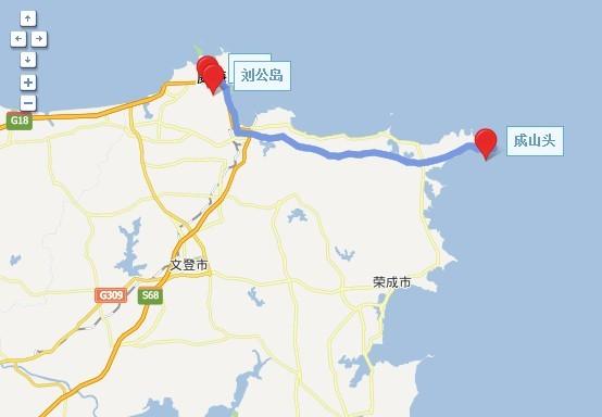 署所在地刘公岛更是集中着甲午战争时期的遗迹,成为认识威海的标志.