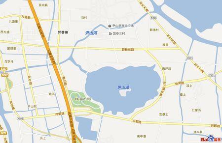 尹山湖板块区位图