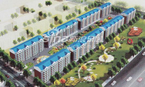 尚品名城规划图   新浪房产保定讯(编辑 丁春雨)南市区   高清图片