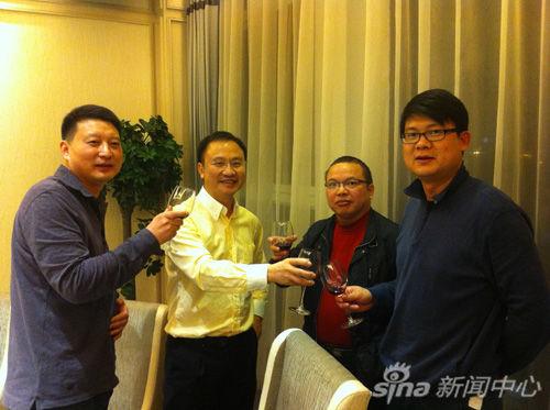 锡恩公司董事长姜汝祥博士莅临我司考察访问