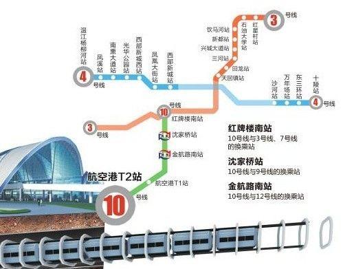 成都地铁线路图图片