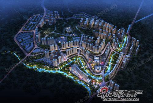 康岭新区(鹤峰新城)规划图