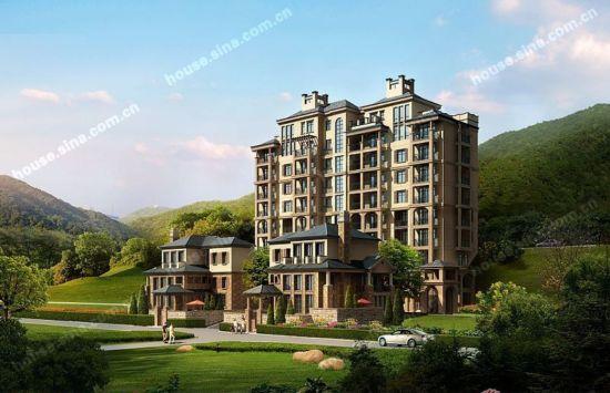 规划设计秉承现代简欧式的建筑风格,园林规划设计全力打造出贵阳的