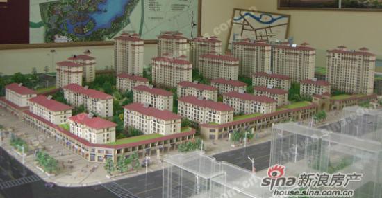 总建筑面积近300万平方米,共有三十一栋楼房,户型面积在80-130平方米