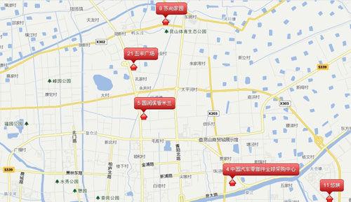 苏州吴江 杨路地图
