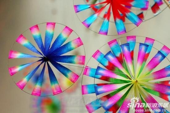 自制三角型风筝图案