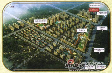 兰德理想城规划图
