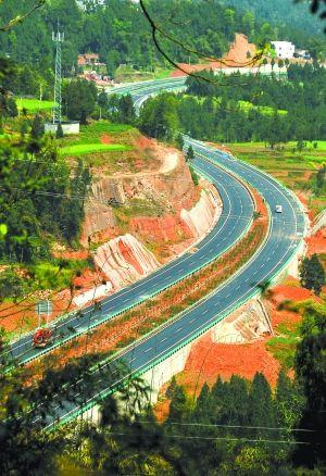 巴南高速公路3月31日12时全线通车 记者试跑巴中1小时