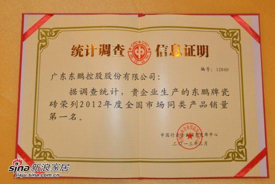 2012年度销量第一