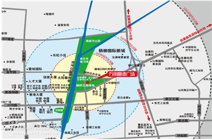济宁曲阜机场地图