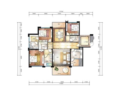 星隆国际广场53平米1房户型