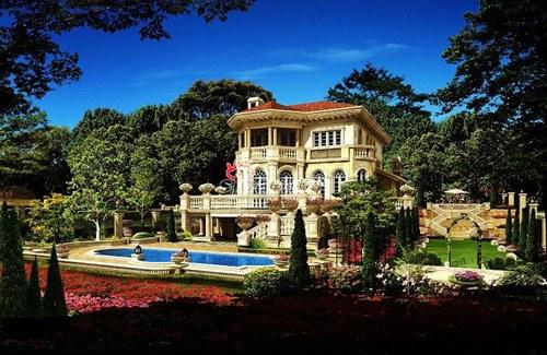 世纪天城独栋别墅每套380万