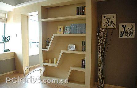 小书房效果图图片分享;