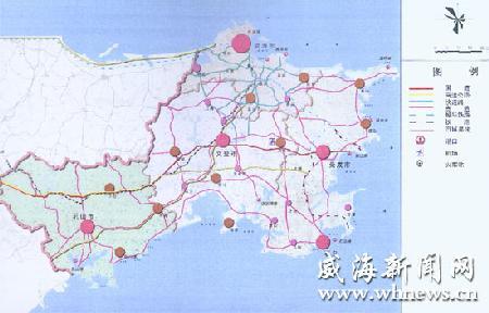 威海经区发展规划图