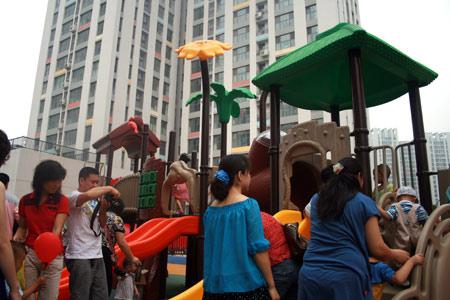 雅思贝尔幼儿园阳光100示范园正式开园