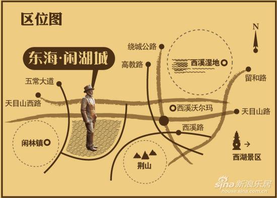 黄龙风景区指示图