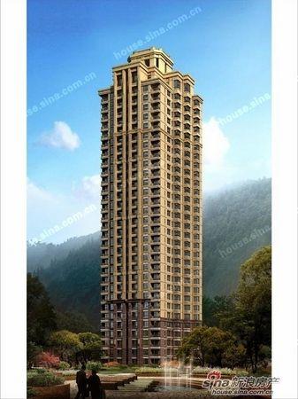 高层住宅大连玉龙湾起价6700元 图 欧式高层住宅效果图户 高清图片