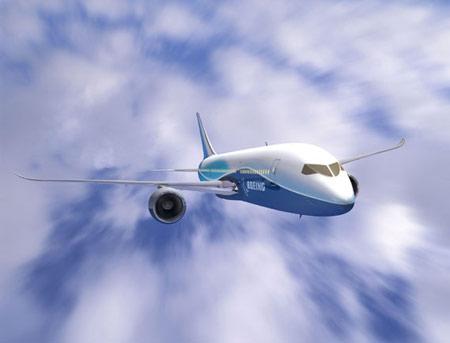波音公司将7e7梦想飞机型号确定为787(组图)
