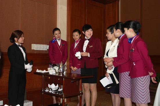 南航空姐与五星级宾馆工作人员交流服务技巧