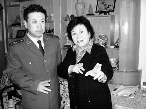 刘兰芳母子的军旅情