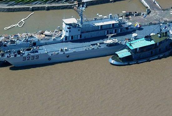 33号运输船俯视图