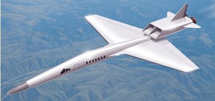 欧洲超声速公务喷气机在法国进行风洞试验