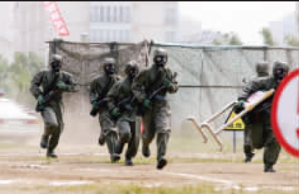 记者直击解放军海陆空三军奥运反恐联动演习