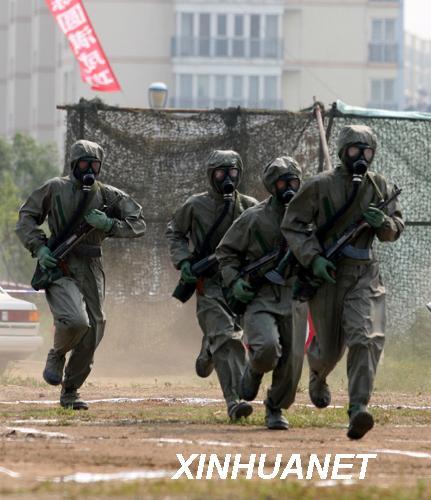 解放军陆海空军将承担七大任务保卫北京奥运