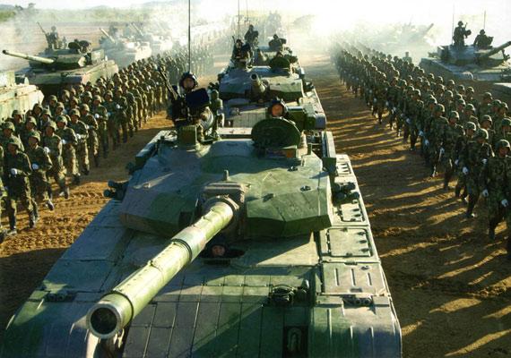 中国装甲兵具长途机动能力成陆军独立突击力量