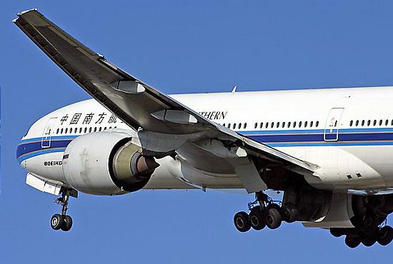 南航波音777十年跨洋飞行开创世界民航历史
