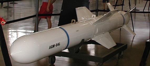 美国防部同意售台60枚改良型鱼叉反舰导弹(图)