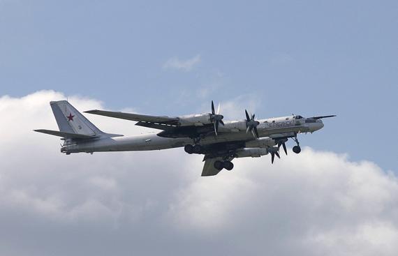 图—95是前苏联图波列夫飞机设计局为苏联空军研制的远程战略轰炸机