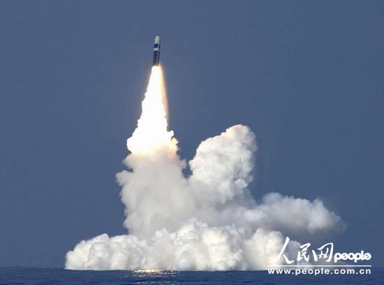 美军拟用洲际导弹投送无人机实施全球侦察(图)
