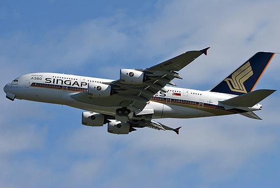 首架a380飞机将于今年10月15日交付新加坡航空