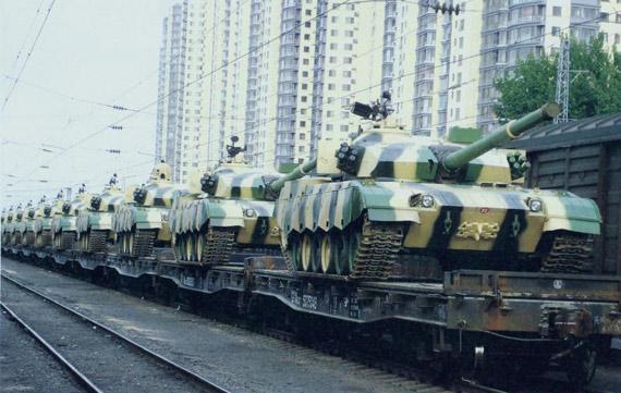 中国新型装备解决坦克铁路运输超限问题(图)