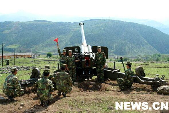 中国火炮精确打击:10公里外命中直径3米目标