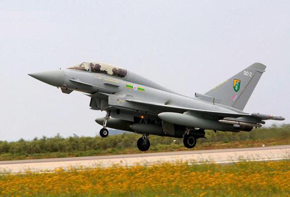 沙特耗资88.4亿美元从英国购72架台风战机(图)