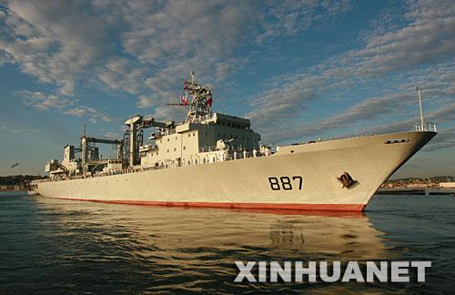 中国海军舰艇编队结束欧洲访问踏上归途(组图)
