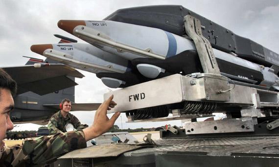 美空军对GBU-39小直径炸弹战场表现表示满意