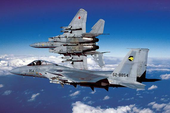 日本冲绳岛将部署约20架F-15战机防御中国(图)