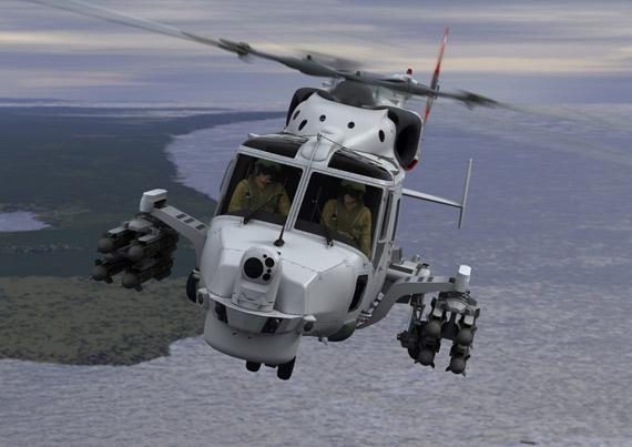 英国未来山猫直升机进入制造阶段军方订购70架