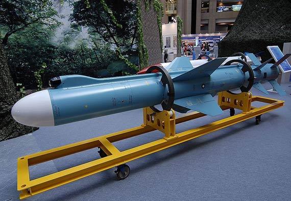 台媒称美国严重关切台军发展雄风-2E导弹(图)