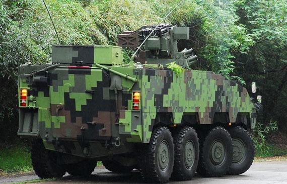 台军年底开始装备云豹装甲车将陆续生产600辆