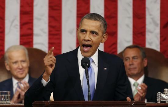 奥巴马2015年国情咨文演讲:定规则的不该是中国图片