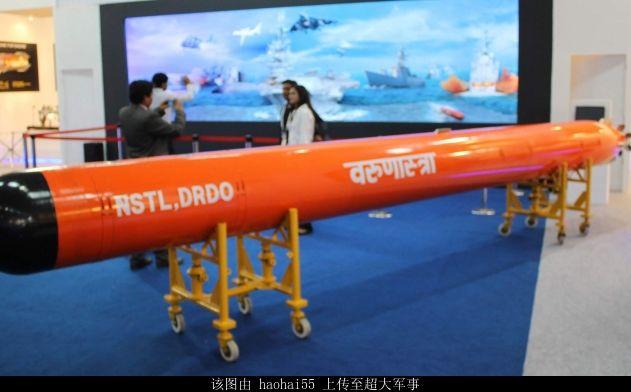 越南或购印度重型鱼雷