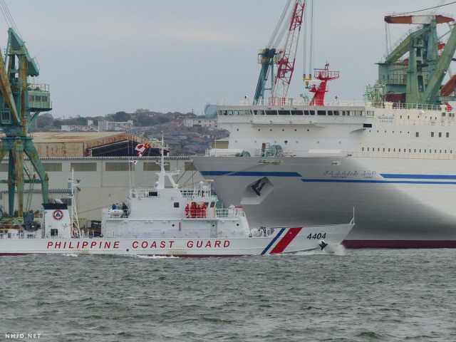 日本援助菲6艘海警船
