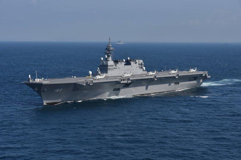 日本准航母首巡中国南海